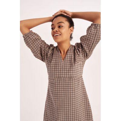 Платье Алазанна 5810 бежевое