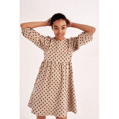 Платье Дакения 5838 бежевое