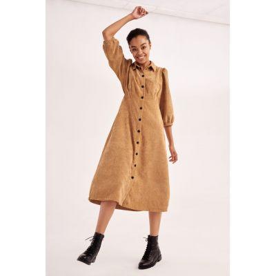 Платье Калоффа 5910 карамельное