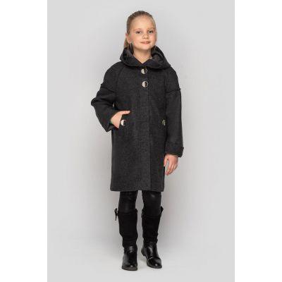 Кашемировое пальто Лана черное
