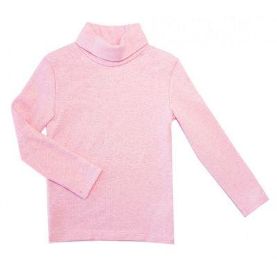 Гольф утепленный 114751/114726/114727Д розовый меланж