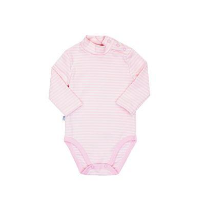 Боди-гольф 102611 розовая полоска