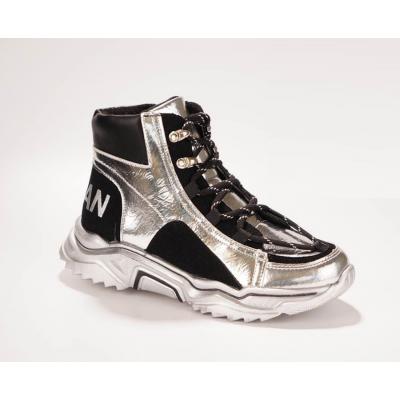 Ботинки FG391-3Y серебро