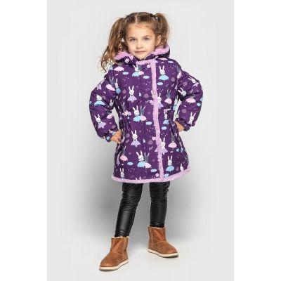 Куртка Рарити зимняя фиолетовая