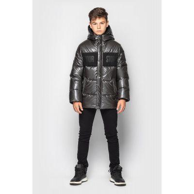 Куртка Эрнест зимняя графит