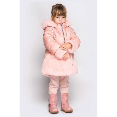 Куртка зимняя Мелисса персик