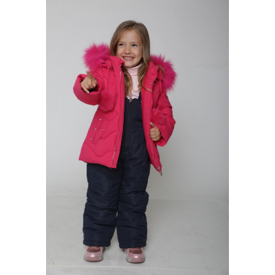 Комплект (куртка+штаны) 947 малиново-синий