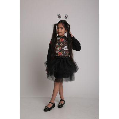 Комплект (свитшот+юбка+обруч) веселый Хэллоуин