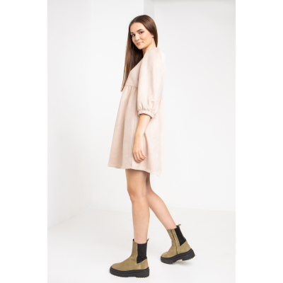 Платье Латэс 6107 молочное