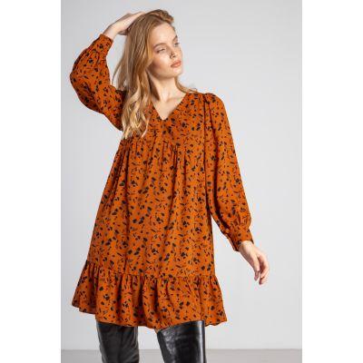 Платье Лиония 6006 карамельное