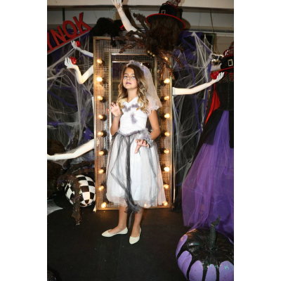 Карнавальный костюм девочка Зомби, Мертвая царевна