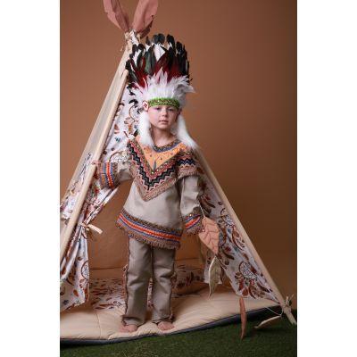Карнавальный костюм Индеец №1