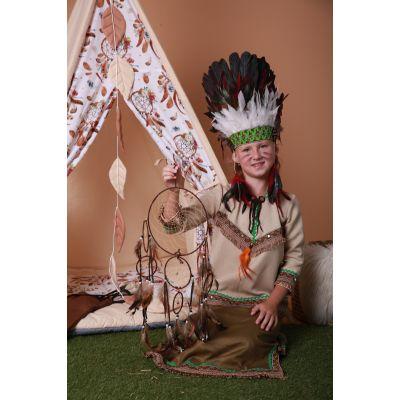 Карнавальный костюм Индеец девочка Индианка №2 Sonechko