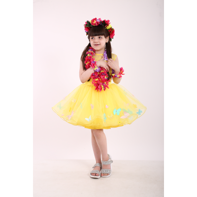 Карнавальный костюм Экзотический цветок Леи