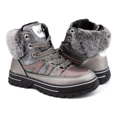 Ботинки H226 серебро