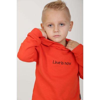 Худи LIVE 0612 оранжевое