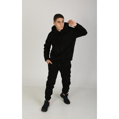 Спортивный костюм с начёсом Найра 6082 черный
