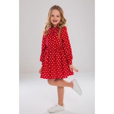Платье Мелиса красное