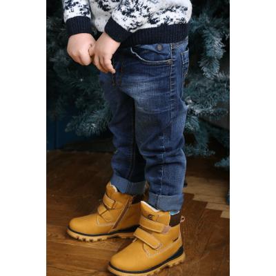 Ботинки H209 коричневые