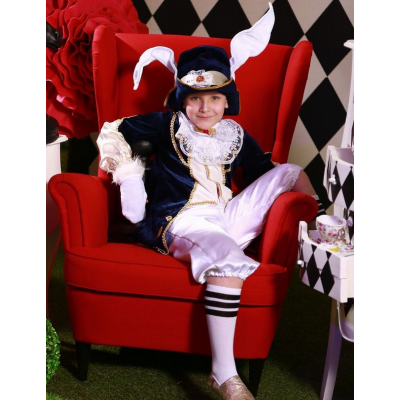 Карнавальный костюм Мартовский Заяц - Кролик (Алиса в стране Чудес)