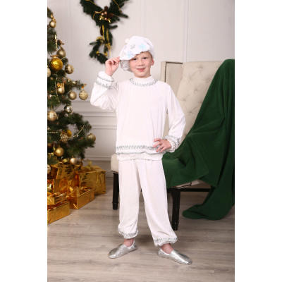 Карнавальный костюм для мальчика Снежок, Снежный Кай