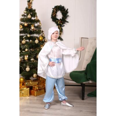 Карнавальный костюм для мальчика Снежок, Снежный Кай №2
