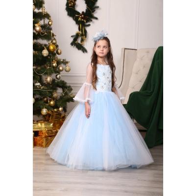 Карнавальный костюм Снежинка, Зима Блеск