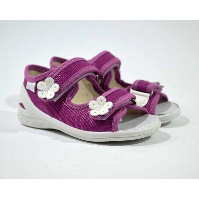 Туфли текстильные Марина ромашки 243-582