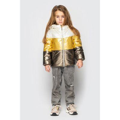 Куртка Мэри молочно золотая