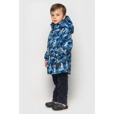 Куртка Оскар дошкольник сине голубая
