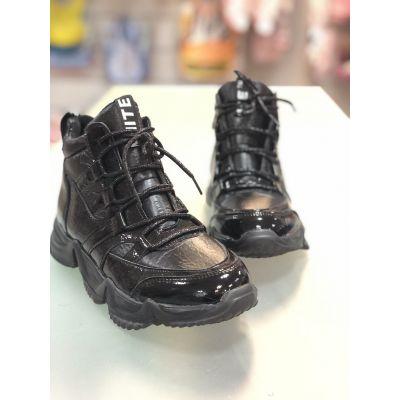 Ботинки FG391-3 черные