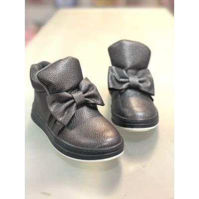 Ботинки для девочки с бантиком 8286
