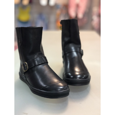 Ботинки для девочки черные 1712-01 PdP