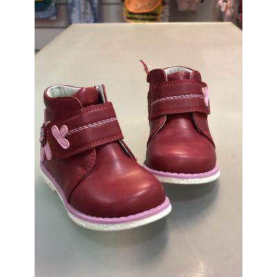 Ботинки 127 красные