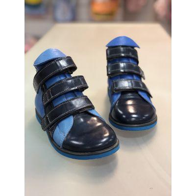 Ботинки ортопедические 713 синий
