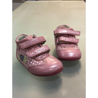 Ботинки 100190 персиковые