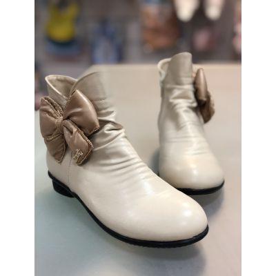 Ботинки LS81755 бежевые