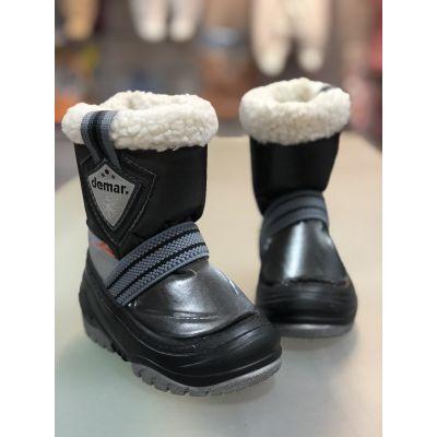 Cапоги зимние - дутики - сноубутсыToby 4031 чёрные