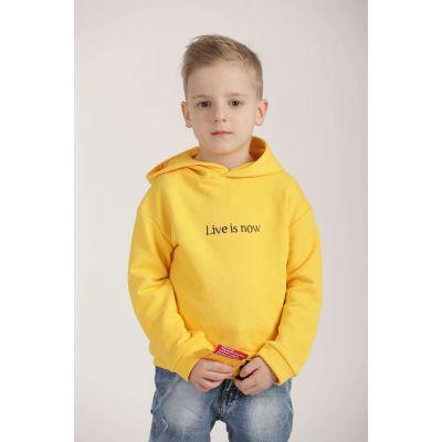 Худи LIVE 0612 желтое