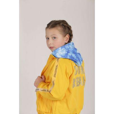 Куртка ветровка WHATEVER желтая