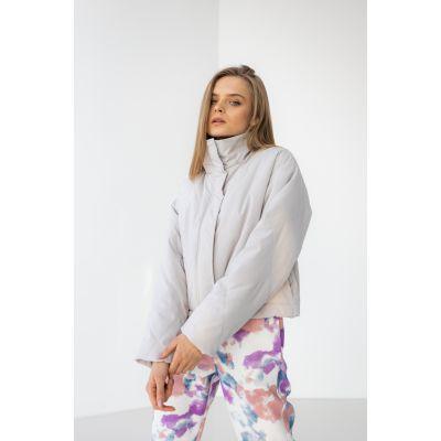 Куртка Альфелия 6508 кремовая