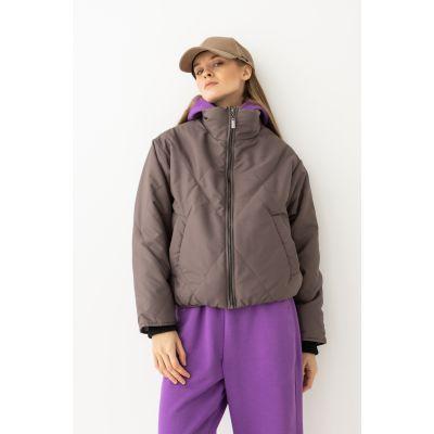 Куртка Семелия 6511 капучино