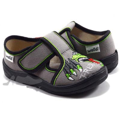 Туфли текстильные 240-662 Гриша серые