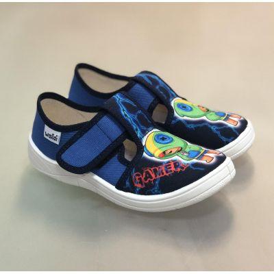 Туфли текстильные 360/40-350 gamer синие