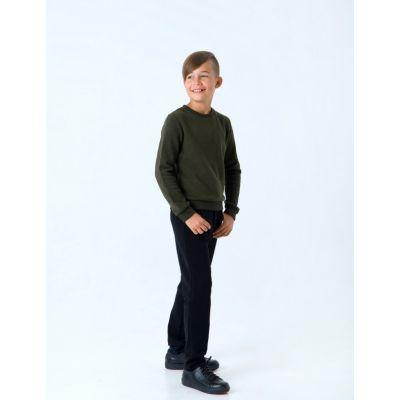 Пуловер для мальчика 116436 хаки
