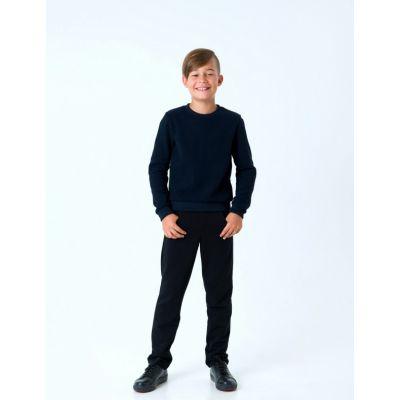 Пуловер для мальчика 116436 темно синий