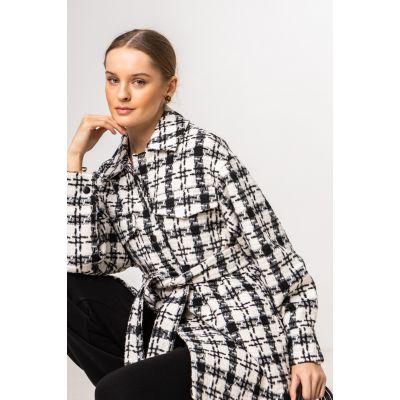Сорочка-куртка Лакрица 6460 черная