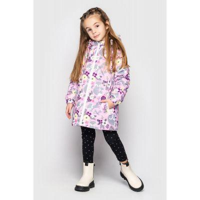 Куртка Эбби сиренево фиолетовая