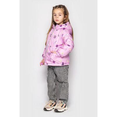 Двухсторонняя куртка Трейси сиренево фиолетовая