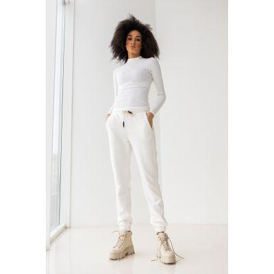 Спортивные штаны Борей 6525 молочные